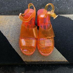 American Apparel Jelly Heel